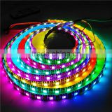 Light Strip flex led 60lights/m DC5V waterproof 5050 flex led strip ws2812b