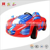 12V 7AH rechargeable battery kids toys spider man looking design openable door power driven ride on car with remote control