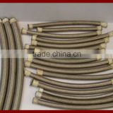 China manufacture hot sale Teflon hose with SS304 mesh/SS304 braided teflon hose/SAE100R14 teflon hose