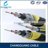 China factory supply high quality multi use direct buried armored submarine 6 core single mode fiber optic cable