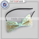 Christmas gifts bowknot Hair Accessories Bow Clasp Variety bowknot Hair Bands Simple Hairbands Hoop