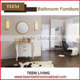 Teem bathroom furniture solid wood bathroom set solid wood bathroom vanity with medicine chest
