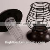 Newest,Stainless steel solar mosquito killer lamp with 2 LED for Outdoor Lighting To Madrid Spain