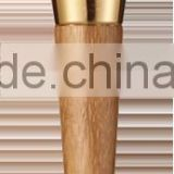 Wholesale Face Used Bamboo Make up Cosmetics Duo end Powder brush / Girl Face Brush / Custom brush cosmetic accessories