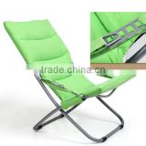 Outdoor comfortable luxury folding padded chairs