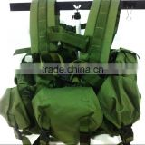 UTS buckle Floating vest with accessory pouches pouch with spout /jewelry pouch with zipper/cosmetic pouch with mirror/