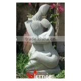 Abstract Stone Statue Sculpture