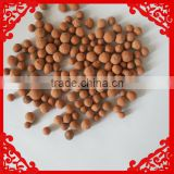 With many applications, light expanded clay aggregate clay pebble /clay ball/grass pebbles/flat round pebbles for sale