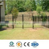 Powder coating Aluminum morden fence gate