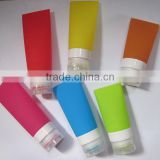 Silicone Travel Bottle Set Shampoo Conditioner Bottle Leak Proof Design Silicone Travel Bottles