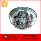 162678 Top Quality Security Acrylic Mirror Convex Mirror Indoor Safety Convex Mirror Full Dome Mirror