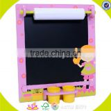 Wholesale teaching aid kids wooden baby easel useful art training wooden baby easel W12B032