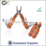 12 in 1 Mini combination multi tool/ mini hand tool/ plier/bottle opener/file/screwdrivers