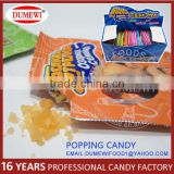 Orange Flavored New Bulk Popping Candy 100 Units