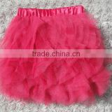 wholesale fashion diverse colour christmas tulle fabric latest design baby safe fabric skirt