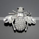 wholesale rhinstone bee pins fashion lovely bee brooches for mens suits