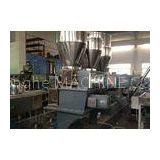 Co-rotating parallel twin screw plastic compounding extruder for masterbatch