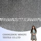 2015 new herringbone style wool polyester woven fabric for women's suiting/coat/trousers