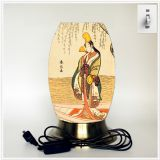 Desk lamp, creative lamp, decorative lamp, LED lamp, Japanese culture lamp (Japan004)