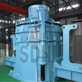PLC series vertical shaft impact crusher function of fine crushing and rough grinding low operation cost