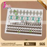 Gold tattoo supply with New color waterproof metallic tattoo
