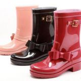Popular Style Rain boots,New fashion Women rain boots,Lady PVC boots,Hi-Q boots