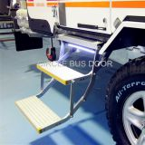 Electrical double foldable bus door step,electrical retractable bus foot step(EBS200D)