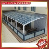 alu pc polycarbonate aluminum aluminium metal outdoor terrace balcony gazebo patio canopy canopies cover awning shelter manufacturers