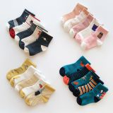 Fun Socks For Kids Fashion Cute Knitted Cotton Non-slip
