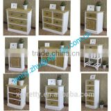 simple european style classic white wooden paulownia drawer home furniture manufacturer bedside table nightstands cabinet