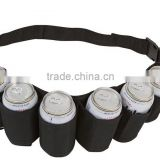 Beer can Belt / 6 Pack Holster Beer Holder Belt Dringking Helmet
