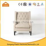 hot selling butterfly wing lounge sofa chair with comfortable button tufted cushion                                                                         Quality Choice