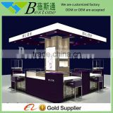 hot sale durable mall jewelry display kiosk booth