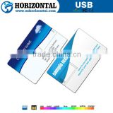 Free logo custom credit card usb flash for promotion gift