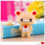 hot usb disk Cute Little Bear usb driver PVC thumb drive