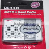 Mini desktop radio Built-In speaker 2 bands radio frequency