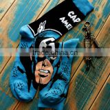 kid superman media corta Sport socks boy Basketball skateboard socks