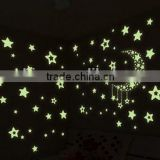 The creative fluorescent little stars luminous wall posts/children room fluorescent bedroom adornment wall stickers