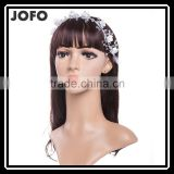 2015 New Bride Headband Hair Accessories For Wedding Dress Silicone Flowers With Crystal SCC0300