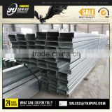 hot dip galvanized unistrut c lip channel with holes support hom