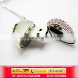 china jewelry USB pen,gift pig mouse usb,heart shape panel mount usb port,manufacturers,supplier&exporters