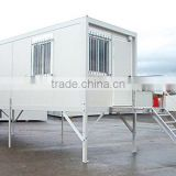 china flat pack home used cargo container house