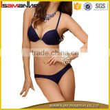 Hot girl sex thong hipster panties push up bra lady sexy seamless bra panty                                                                                                         Supplier's Choice