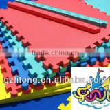 Indoor Soft Eco-friendly Kids Playground Mats 7-13d