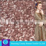 Cheap fabric supplier New style Dress Knitted wholesale sequin fabric                                                                         Quality Choice