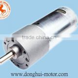 6V DC Geared Motor With Gearbox