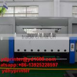 Industrial automatic digital non woven fabric roller printing machine, multicolor fabric printing photo machine