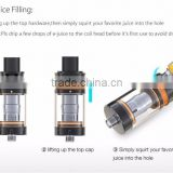 New model e cigarette inner circular airflow control system Goodger tank coil head vaporizer