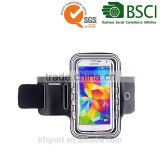 China manufacturer custom sports running ajustable running sport armband bag case for mobile phone
