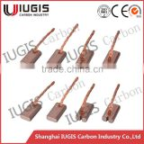 copper contain carbon brush for electric screw driver 12v